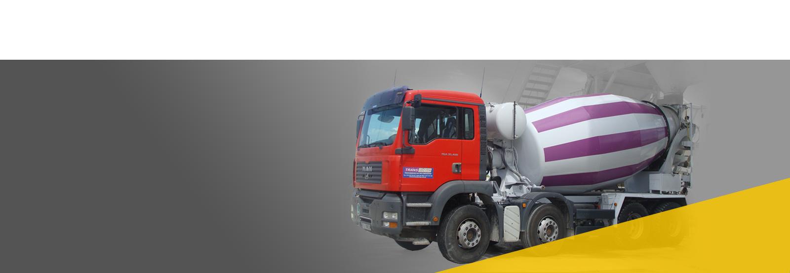 Transdźwig Największy producent betonu w regionie. <br/>Wysoka jakość potwierdzona <br/>na wielu budowach.
