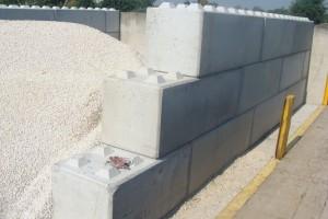 Galeria betonowych bloków