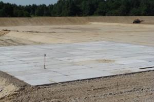 Dostawa płyt drogowych nabudowę elektrowni wKozienicach.