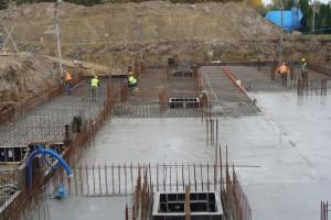 Dostawa betonu nabudowę bloku