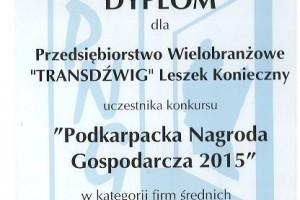 podkarpacka nagroda gospodarcza 2015