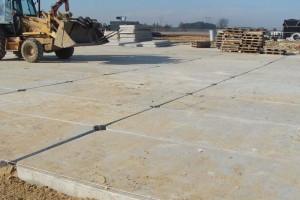 Place idrogi zpłyt drogowych - budowa Chmielnik