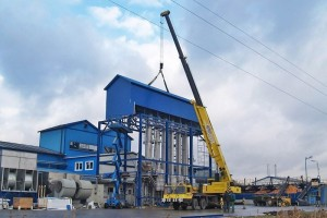 Budowa hali produkcyjnej wSamborcu