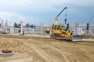 Budowa Parku Handlowego wTarnobrzegu